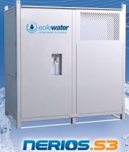 The Nerios Water Making System, manufactured by Eole Water and distributed by Aquavolve.